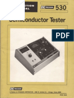 B&K 530 Semiconductor Tester