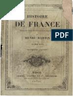 H.martin - Histoire de France - Tome 16