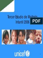 Tercer Estudio de Maltrato Infantil en Chile