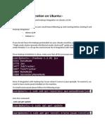 R Integration Hadoop on Ubuntu