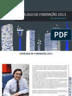 Catalogo Formacao 2013