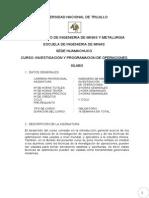 SILABO INVESTIGACIÓN DE OPERACIONES UNT_2014_1