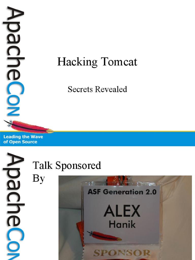 Hacking Tomcat | Java Server Pages | Java Servlet