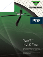 Kelley WAVE™ HVLS Fan Brochure
