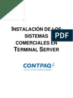 Configuracion Terminal Server