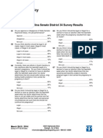 District 34 Survey Results