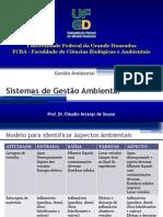 Sistemas de Gestão Ambiental - Identificação de aspectos e impactos ambientais