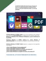 Activador Permanente Windows 8