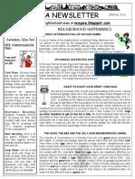 Spring 2014 Newsletter