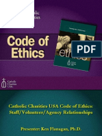 CCUSA Code of Ethics--Staff Volunteer Agency Relationships