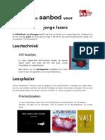 Torenhof Folder Ons Aanbod Voor Jonge Lezers