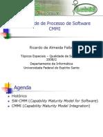 Aula 10 - Qualidade de Processo - CMMI