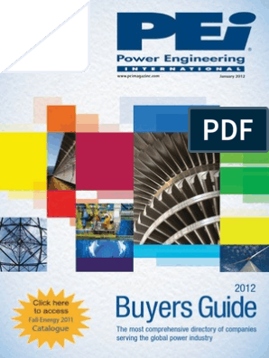 PEi Power Engineering International January 2012 pdf | Smart Grid | Coal
