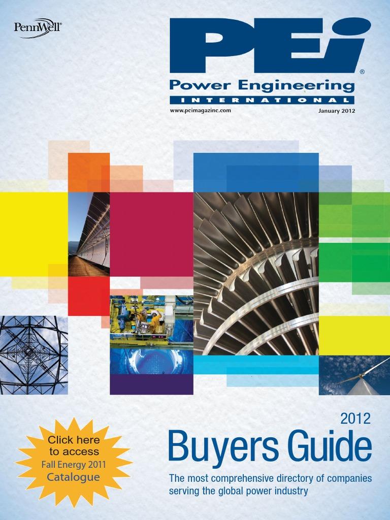 Pei Power Engineering International January 2012 Smart Grid Coal