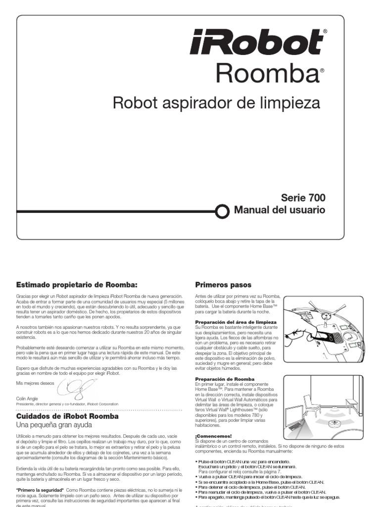 Manual Roomba 780