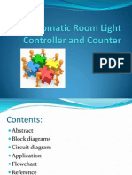 Automatic Room light controller and Counter