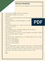 Protocolos Procesiones e Indumentaria