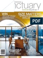 Sanctuary magazine issue 9 - sample - beautiful green homes