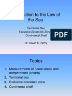 Dr Berry Introduction to the Law of the Sea