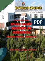 Evaluación de la Gestión de Gobierno - Marzo 2014