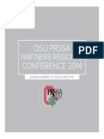 Ohio State PRSSA Conference Brochure