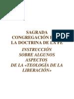 Algunos aspectos sobre la teología de la liberación-SAGRADA CONGREGACIÓN PARA LA DOCTRINA DE LA FE.pdf