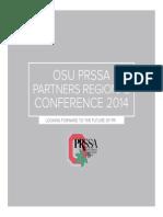Ohio State PRSSA Conference Brochure