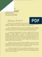 Carta de Losada a Feijoó sobre el topónimo
