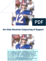 Jim Kelly Receives Outpouring of Support