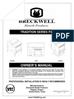 Breckwell P23 Pellet Stove Manual