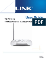 TD-W8151N User Guide