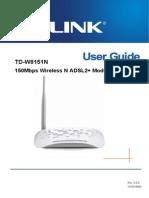 TD-W8151N User Guide
