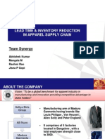 Six Sigma Approach for Replenishment in Supply Chain