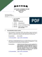 Board Agenda Package April 2014