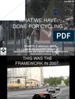 """""""WHAT WE HAVE DONE FOR CYCLING"""" IN LISBON"""