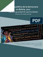 Calidad Politica de La Democracia en Bolivia Resumen