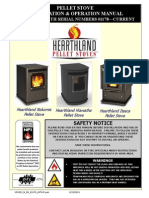Hearthland Pellet Stove 2010 Stove Owner's Manual