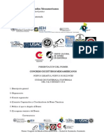 Programa - Congreso de Estudios Mesoamericanos