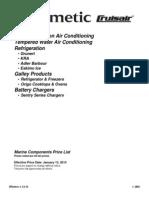 2014 Cruisair Pricebook
