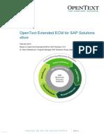 OpenText Extended ECM for SAP Solutions 10 - eBook