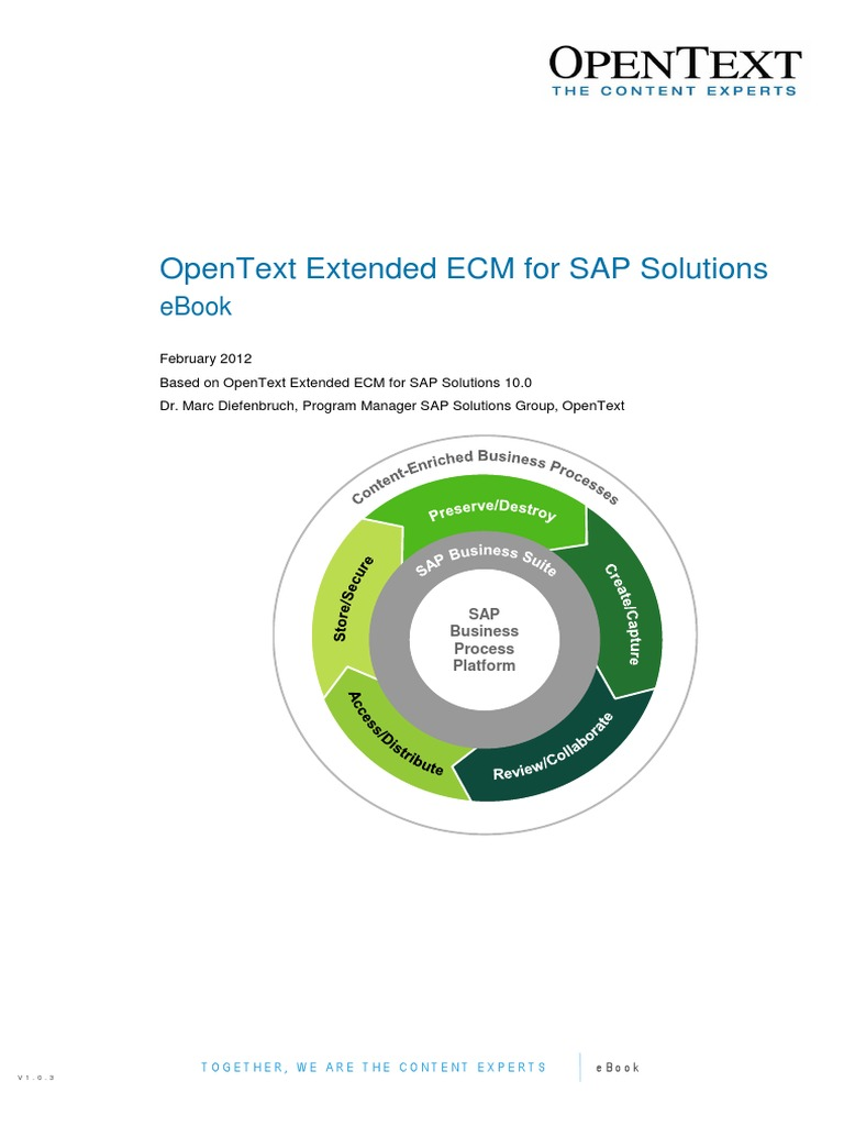Opentext extended ecm for sap solutions 10 ebook records opentext extended ecm for sap solutions 10 ebook records management sap se fandeluxe Choice Image