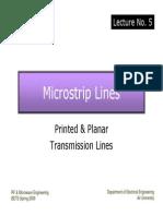 Lec.5 Microstrip Lines