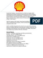 Royal Dutch Shell Plc Case Study AS Geo