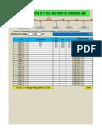 (22) Calculate % Voltage Regulation of Line (14.1.14)