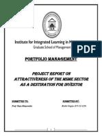 Report on MSME