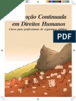 Livro Didatico - Curso Sec Acao Social e Seg Publica - ESPAÇADO