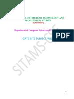 Gate Book- Cse