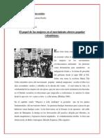 El Papel de Las Mujeres Las Revoluciones en Colombia