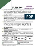 1) 5h4m Hkg Macau Super Saver