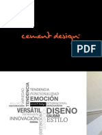 Catalogo Cement Design 2013